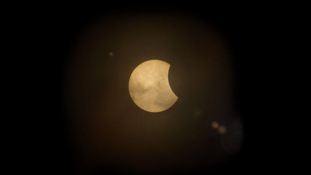 The Dark Eclipse - Poem by Nitin