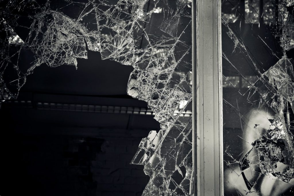 A Broken Glass - Poem - NitinNairWrites